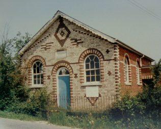 Leavenheath Primitive Methodist chapel | Keith Guyler 1986
