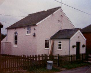 1839 Old Newton Primitive Methodist Chapel in 1989. Porch added 1907, Hall 1955, Refurbished 1996 | Keith Guyler 1989