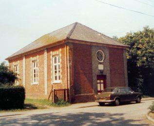 Woolpit Primitive Methodist chapel | Keith Guyler 1986