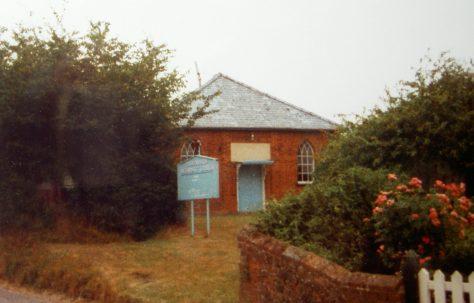 Barnardiston Primitive Methodist chapel
