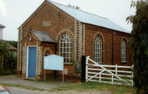 Withersfield Primitive Methodist chapel