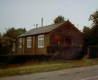 Hargrave Primitive Methodist chapel   Keith Guyler 1992
