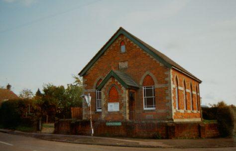 Saxon Street Primitive Methodist chapel