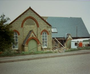 former Prickwillow Primitive Methodist chapel | Keith Guyler 1989