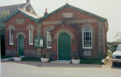 Darsham Primitive Methodist chapel
