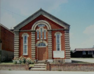 Halesworth Primitive Methodist chapel | Keith Guyler 1986