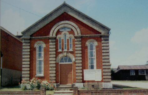 Halesworth Primitive Methodist chapel
