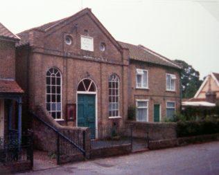 1851 Kelsale Primitive Methodist chapel in 1988 | Keith Guyler 1988