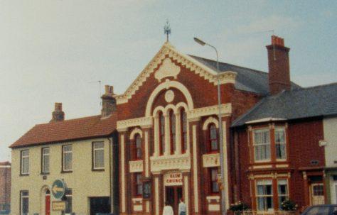 Lowestoft St Peters Street Primitive Methodist chapel