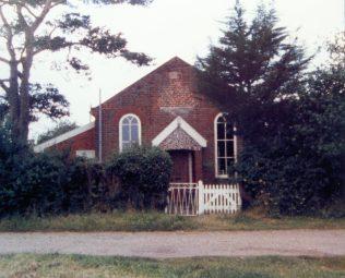 Wenhaston Heath Primitive Methodist | Keith Guyler 1986
