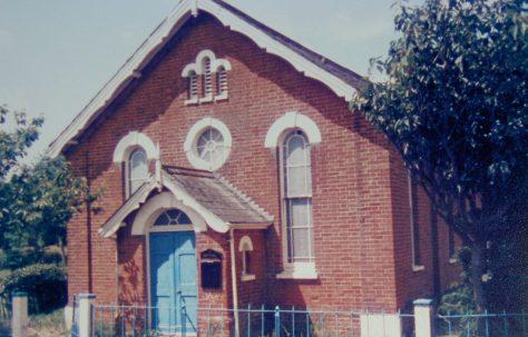 Westhall Primitive Methodist chapel