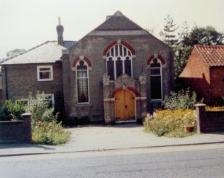 1907 Wrentham Primitive Methodist Church in 1986 | Keith Guyler 1986