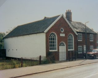 Yoxford Primitive Methodist chapel | Keith Guyler 1988