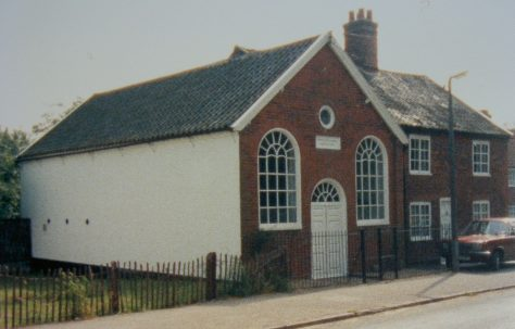 Yoxford Primitive Methodist chapel