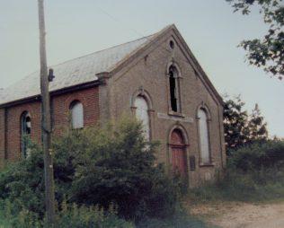 Haddiscoe Primitive Methodist chapel | Keith Guyler 1986