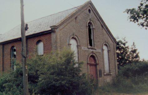 Haddiscoe Primitive Methodist chapel