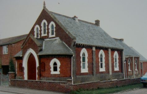 Bradwell Primitive Methodist chapel