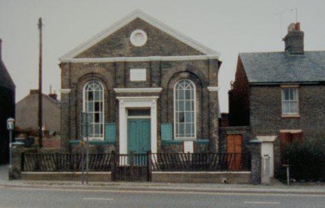 Gorleston Beccles Road Primitive Methodist chapel