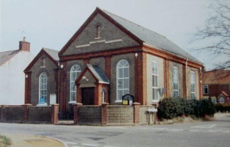 Hemsby Primitive Methodist chapel