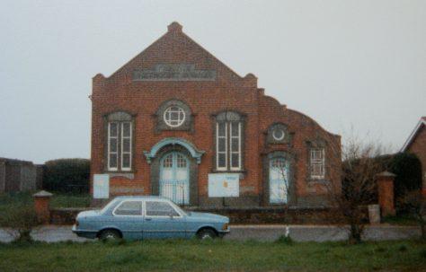 Repps Primitive Methodist chapel