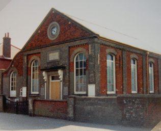 1876 Winterton Primitive Methodist Chapel in 1988 | Keith Guyler 1988