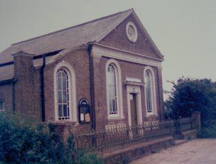 Halvergate Primitive Methodist chapel   Keith Guyler 1986