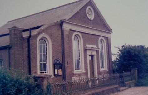 Halvergate Primitive Methodist chapel