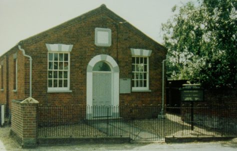 Cawston Primitive Methodist chapel