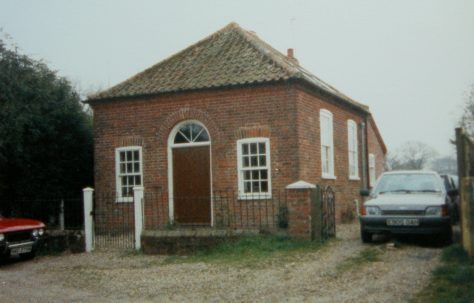 Edingthorpe Primitive Methodist chapel