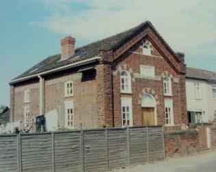 Felmingham Primitive Methodist chapel | Keith Guyler 1987