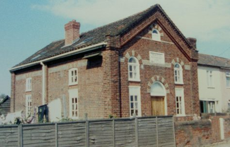 Felmingham Primitive Methodist chapel