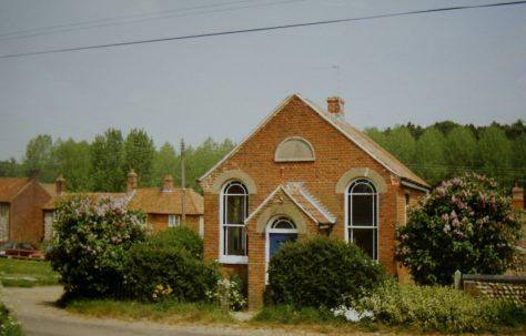 Hunworth Primitive Methodist chapel