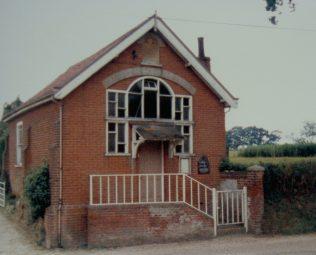 Itteringham Primitive Methodist chapel | Keith Guyler 1986