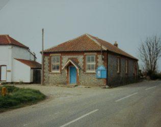 Lessingham Primitive Methodist chapel | Keith Guyler 1988