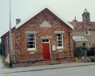 Marsham Primitive Methodist chapel   Keith Guyler 1986