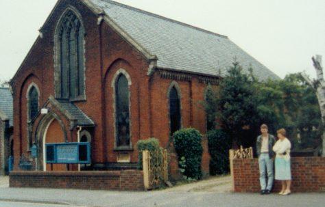 North Walsham Primitive Methodist chapel
