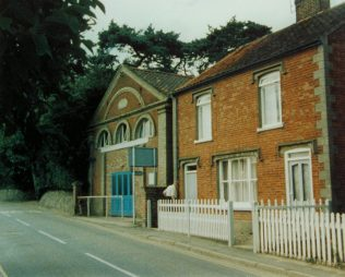 Reepham Primitive Methodist chapel   Keith Guyler 1987
