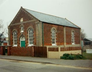 Sea Palling Primitive Methodist chapel | Keith Guyler 1988