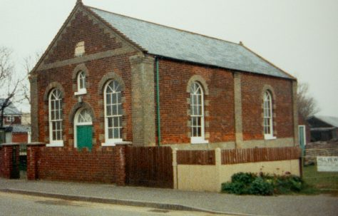 Sea Palling Primitive Methodist chapel