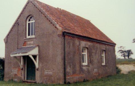 Wickmere Primitive Methodist chapel