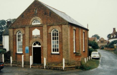 Binham Primitive Methodist chapel