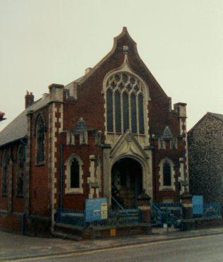 Buckenham Memorial Primitive Methodist chapel, Fakenham | Keith Guyler 1987