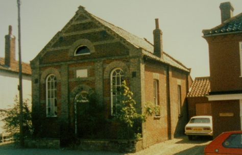 Foulsham Primitive Methodist chapel