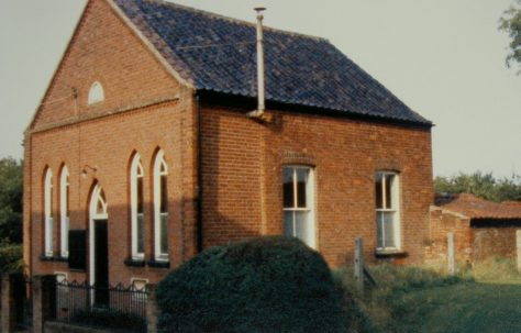 Fulmodestone Primitive Methodist chapel