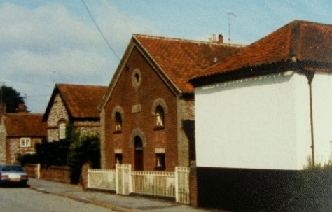 Helhoughton Primitive Methodist chapel
