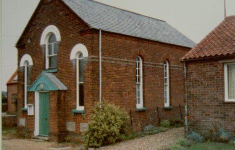 Sculthorpe Primitive Methodist chapel