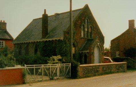 Whissonsett Primitive Methodist chapel