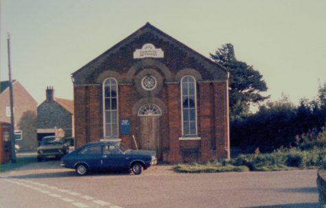 Wighton Primitive Methodist chapel