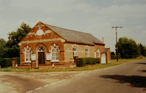 Beetley Primitive Methodist chapel