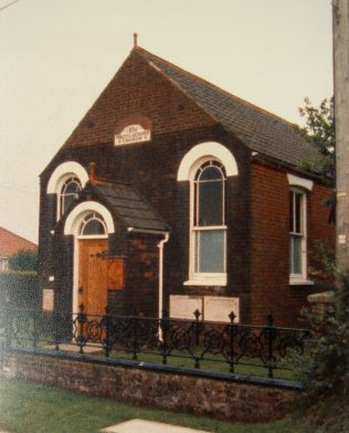 Foxley Primitive Methodist chapel | Keith Guyler 1987